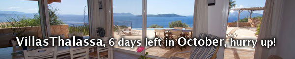 VillasThalassa, few weeks left in OCTOBER, hurry up!